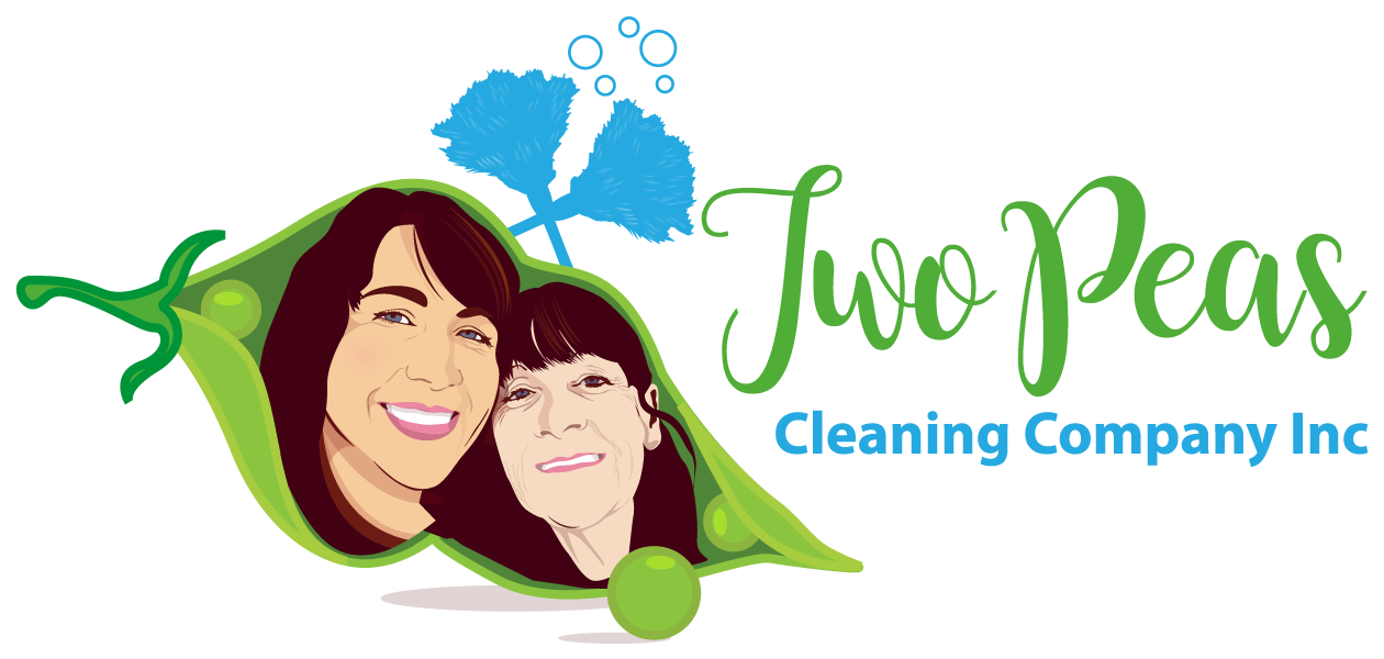 Two Peas Cleaning Logo